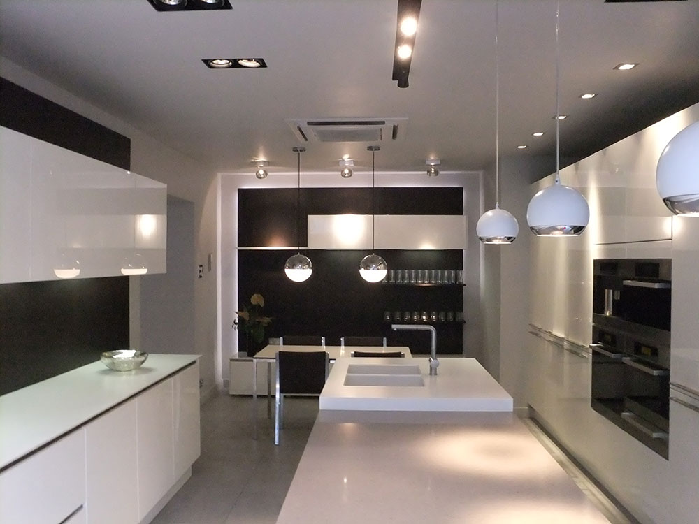 Commerical Kitchen Lighting
